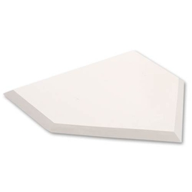SSG / BSN Rubber Home Plate - Home plate only, Price/EA