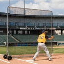 BSN Sports Pro Base Fungo Screen 8' x 8' - Complete Unit - 8' x 8' only