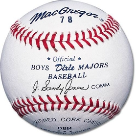 MacGregor #78 Official Dixie Boys & Majors, Price/DZN