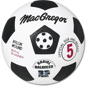 MacGregor Rubber Soccer Ball Size 4, Price/EA