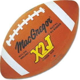 MacGregor  X2J Junior Football - Rubber - Junior, 9-12, Price/EA