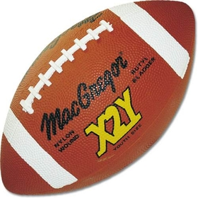 MacGregor X2Y Youth Football - Rubber - Youth, 12-14, Price/EA