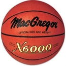 "MacGregor X6000 Basketball, Official Size (29.5"") only"