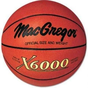 "MacGregor X6000 Official Basketball - Official Size (29.5""), Price/EA"