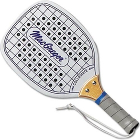 MacGregor Collegiate Paddleball Racquet - Replacement Budget Wood Paddle, Price/EA