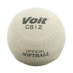 "MacGregor Voit 12"" Sponge Center Softball - 12"" White, Price/EA"