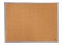 Quartet Cork Bulletin Board, 5' x 3', Silver Aluminum Frame, 2305
