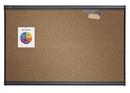 Quartet Prestige Colored Cork Bulletin Board, 4' x 3', Graphite Finish Frame, 244G