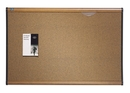 Quartet Prestige Colored Cork Bulletin Board, 4' x 3', Maple Finish Frame, 244MA