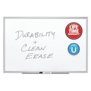 Quartet Premium DuraMax Porcelain Magnetic Whiteboard, 6' x 4', Silver Aluminum Frame, 2547