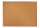 Quartet Cork Bulletin Board, 5' x 3', Oak Finish Frame, 305