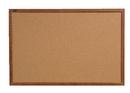 Quartet Cork Bulletin Board, 2' x 3', Oak Finish Frame, 85223B