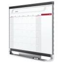 Quartet Prestige 2 Magnetic Monthly Calendar Board, 4' x 3', Total Erase Surface, CP43P2