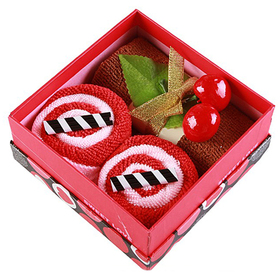 Dessert Gift Box Towel Favors, Gift Idea, Christmas Gift, Price/1 Box