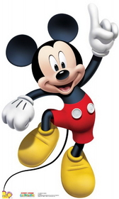 "Advanced Graphics 1174 Mickey Dance- 45"" x 28"" Cardboard Standup"