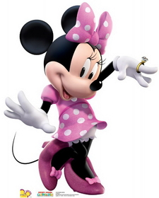 "Advanced Graphics 1176 Minnie Dance- 41"" x 33"" Cardboard Standup"