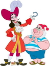 Advanced Graphics 1209 Captain Hook and Mr Smee -  66