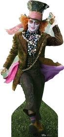 "Advanced Graphics 131 Mad Hatter - Johnny Depp- 78"" x 37"" Cardboard Standup"