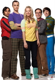 "Advanced Graphics 1414 Big Bang Theory Group - 72"" x 49"" Cardboard Standup"