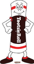 Advanced Graphics 1461 Tootsie Roll Man - 61