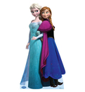 "Advanced Graphics 1575 Elsa and Anna - 70"" x 37"" -  Cardboard Standup"