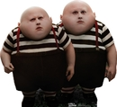 "Advanced Graphics 157 Tweedle Dee / Dum- 34"" x 37"" Cardboard Standup"