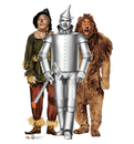 Advanced Graphics 1620 Tinman, Lion and Scarecrow (Wizard of Oz 75th Anniversary) - 72
