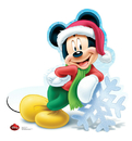 Advanced Graphics 1736 Mickey Mouse Holiday - Disney - 42