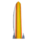 Advanced Graphics 1767 Surf Board - 88
