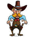 Advanced Graphics Cartoon Cowboy - 45
