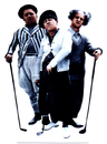 Advanced Graphics 221 Three Stooges-Golf- 68