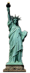 "Advanced Graphics 373 Statue of Liberty- 73"" x 34"" Cardboard Standup"