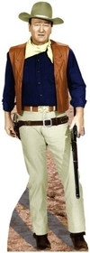 "Advanced Graphics 495 John Wayne- 74"" x 26"" Cardboard Standup"