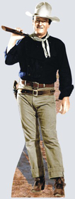 "Advanced Graphics 500 John Wayne- 76"" x 29"" Cardboard Standup"