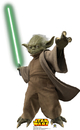 Advanced Graphics 528 Yoda with Lightsaber- 46
