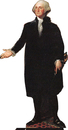 "Advanced Graphics 538 George Washington- 72"" x 38"" Cardboard Standup"