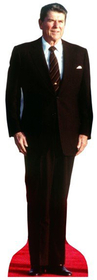 "Advanced Graphics 572 President Ronald Reagan- 74"" x 24"" Cardboard Standup"