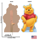 "Advanced Graphics 642 Winnie the Pooh- 40"" x 23"" Cardboard Standup"