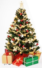 "Advanced Graphics 707 Christmas Tree- 75"" x 46"" Cardboard Standup"