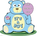 Advanced Graphics 800 It's A Boy Teddy Bear- 40