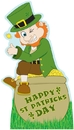 Advanced Graphics 804 Leprechaun with Pot of Gold / Rainbow- 60