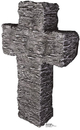 Advanced Graphics 807 Granite Stone Tombstone- 36