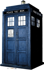"Advanced Graphics 881 The Tardis- 72"" x 46"" Cardboard Standup"