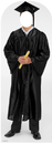 Advanced Graphics 899 Male Graduate Black Cap & Gown Standin PRINT- 72