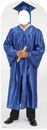 Advanced Graphics 900 Male Graduate Blue Cap & Gown Standin- 72