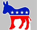Advanced Graphics 921 Democratic Donkey- 36