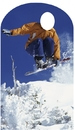 Advanced Graphics 925 Snowboarder Stand In- 71
