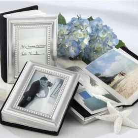Idoo Little Book of Memories - Silver & Gold Eition Mini Photo Album, Price/20 Pcs