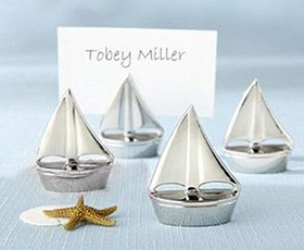 Idoo Shining Sails Silver Place Card Holders, Price/Dozen