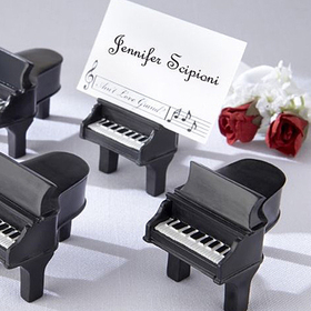 Idoo Piano Place Card Holder, Photo Holder, Wedding Favors, Price/Dozen